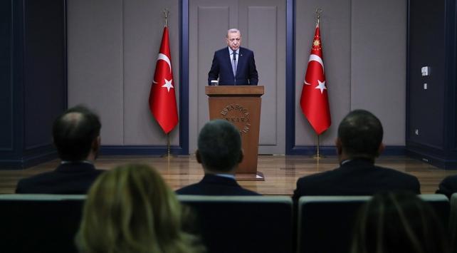 Cumhurbaşkanı Erdoğan çekilen terörist sayısını açıkladı