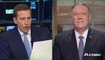 Pompeo ile röportaj yapan CNBCden dezenformasyon