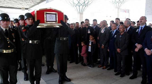 Şehit Uzman Onbaşı Umut Coşkun son yolculuğuna uğurlandı