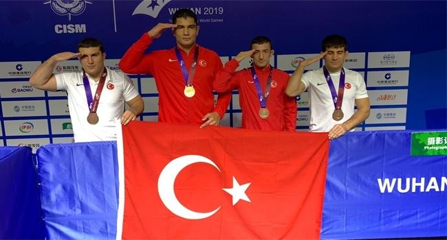 TSK Serbest Güreş Milli Takımı ikinci oldu