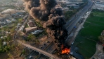 Endonezyada petrol boru hattında patlama: 1 ölü