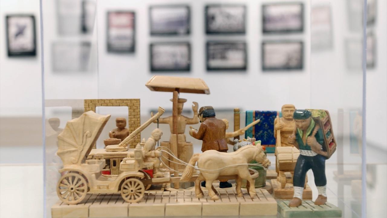 Anılarda Ankara sergisi açıldı