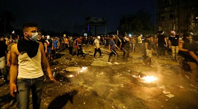 """Irak hükümetinden """"göstericilere karşı gerçek mermi kullanıldı"""" itirafı"""