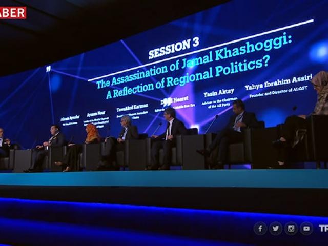TRT World Forum'da Cemal Kaşıkçı cinayeti özel oturumla konuşuldu