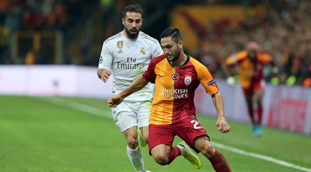 Galatasaray evinde Real Madride kaybetti