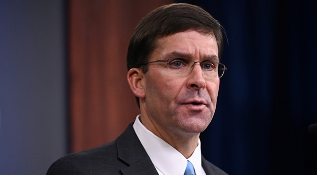 ABD Savunma Bakanı Esperden Iraka sürpriz ziyaret