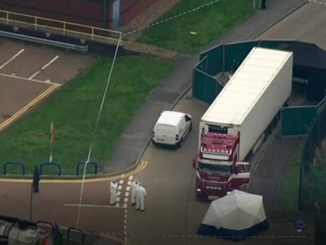 İngiltere'de konteyner içinde 39 ceset bulundu