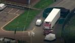 İngilterede konteyner içinde 39 ceset bulundu