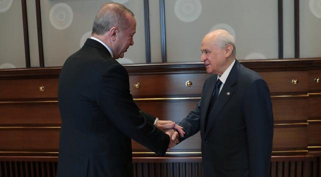 Cumhurbaşkanı Erdoğan, Bahçeli'ye geçmiş olsun ziyaretinde bulunacak