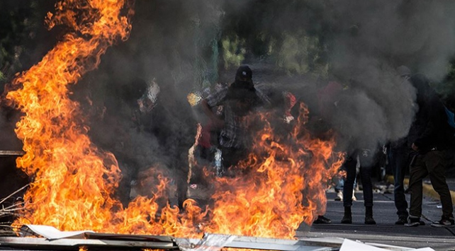 Meksikada çıkan olaylarda ölenlerin sayısı 13e yükseldi