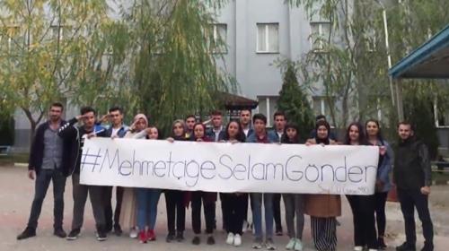 """""""Mehmetçiğe selam gönder"""" kampanyasına büyük destek"""
