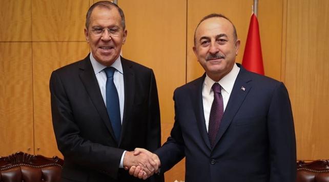 Lavrov ve Çavuşoğlu Suriyeyi görüştü