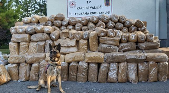 Kargo aracında 6 ton 280 kilogram kaçak tütün ele geçirildi