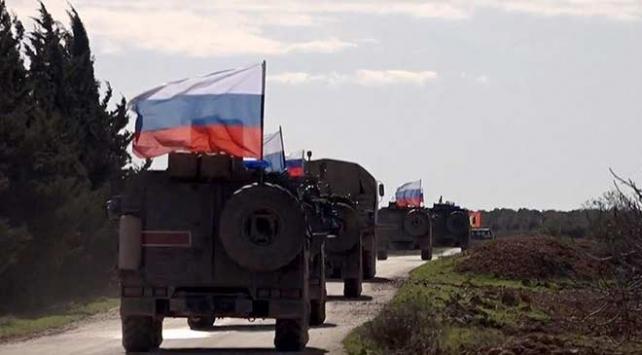 Rus askeri polisinden Suriyenin kuzeyinde devriye