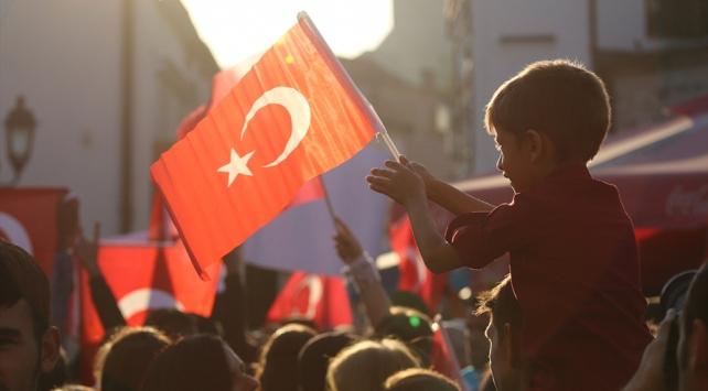 """Kuzey Makedonyada """"Türkiye ile Dayanışma Mitingi"""""""