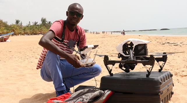 Senegalli genç mucit yerli droneu ile ülkede sıtmayı bitirmeyi amaçlıyor