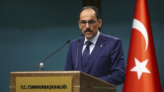 Cumhurbaşkanlığı Sözcüsü Kalın: Bağdadinin öldürülmesiyle ilgili terör örgütü YPGye pay çıkarma çabası var