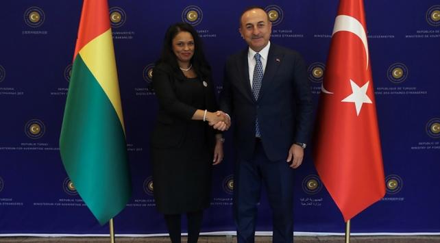 Gine-Bissau Dışişleri Bakanı: Türkiye için sesimizi yükseltiyoruz