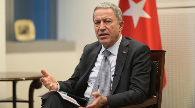 Bakan Akar: PKK/YPGnin harekat bölgesinde kaldığı gözüküyor