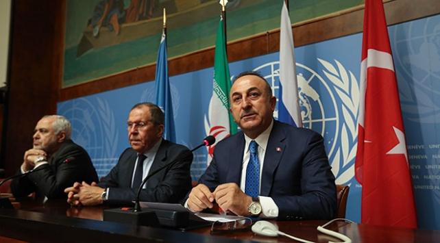 Bakan Çavuşoğlu: Rus ortaklarımıza inanıyoruz, ancak teröristlere güvenemeyiz