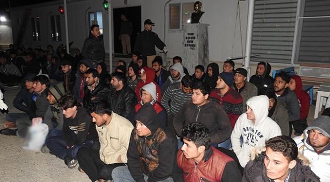 Balıkesirde 152 düzensiz göçmen yakalandı