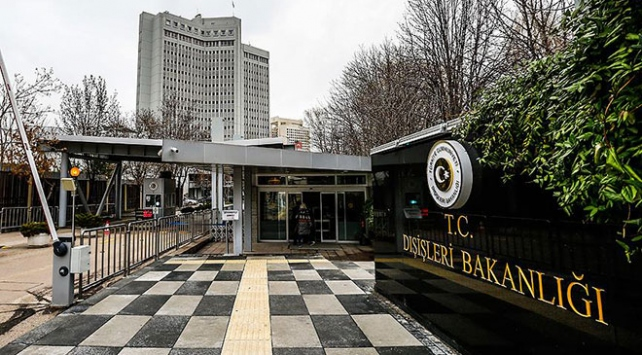 ABDnin Ankara Büyükelçisi Dışişleri Bakanlığına çağrıldı