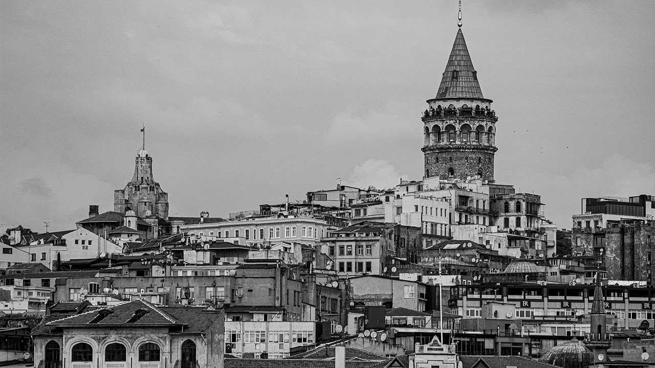 Siyah beyaz İstanbul