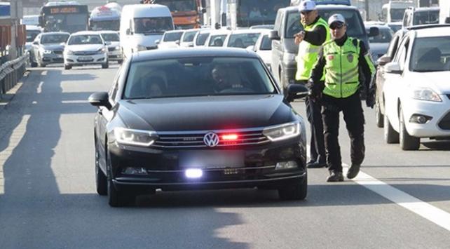 Trafikte Yeni Donem Cakar Lamba Kisitlamasi Basladi