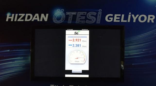 Türk Telekomdan gerçek 5G denemesinde dünya hız rekoru