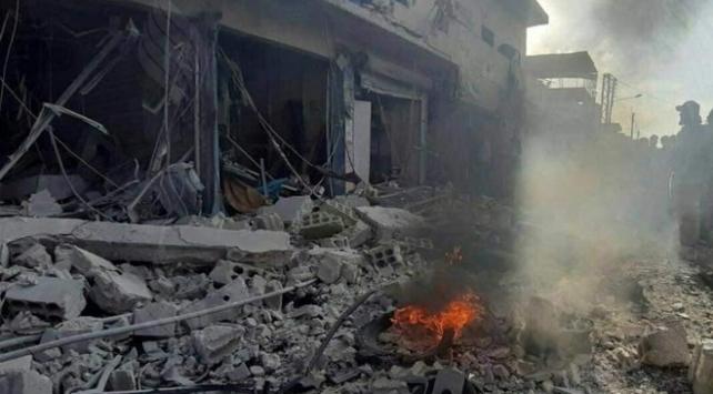 Tel Abyad'da bombalı saldırı ile ilgili görsel sonucu