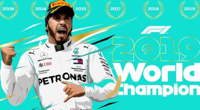 Formula 1de şampiyon Hamilton