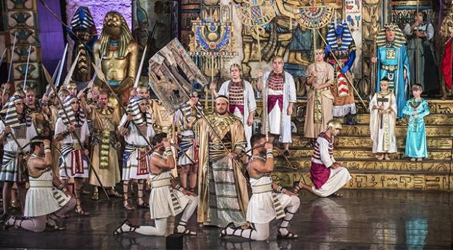 Aida Operasında yılın son temsili yapılacak