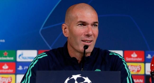 Zidane basın toplantısında Galatasaraydan bahsetmedi