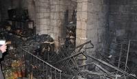 Mardin'de 300 yıllık binada yangın
