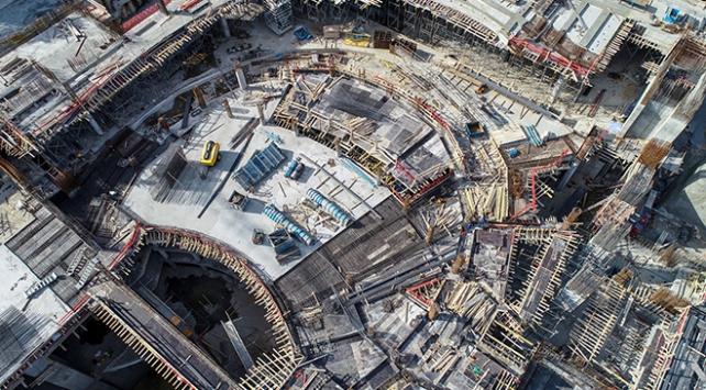 Yeni AKMnin kaba inşaatının yüzde 60ı tamamlandı