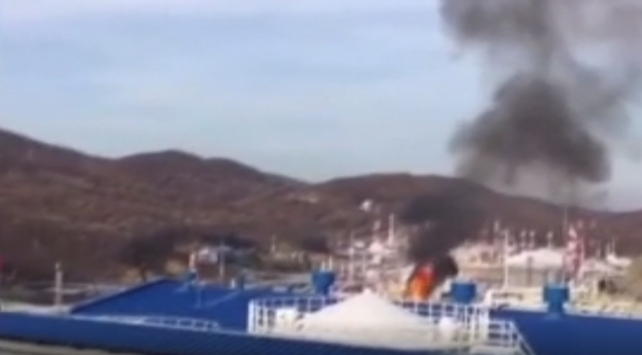 Rusyada petrol tankında patlama: 5 yaralı