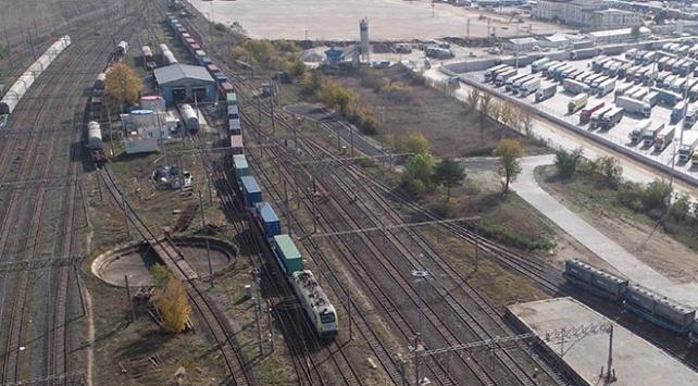 Çinden Avrupaya giden ilk yük treni Kapıkulede