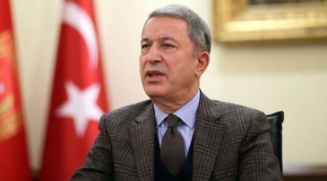 Bakan Akar: Terör örgütü anlaşmaları ihlal ederek bölgeden çekilmedi