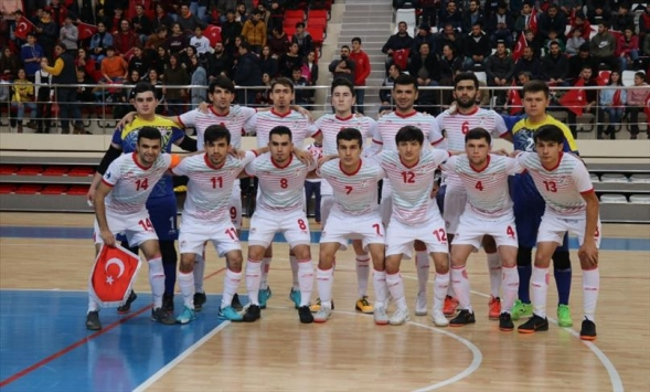 Futsal Milli Takımının rakipleri belli oldu