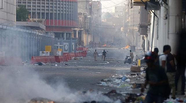 Af Örgütü: Iraktaki gösterilerde İran yapımı ölümcül gaz bombası tespit edildi
