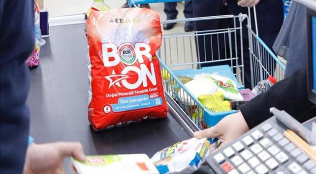 BORON, 10 ayda 30 bin ton satıldı