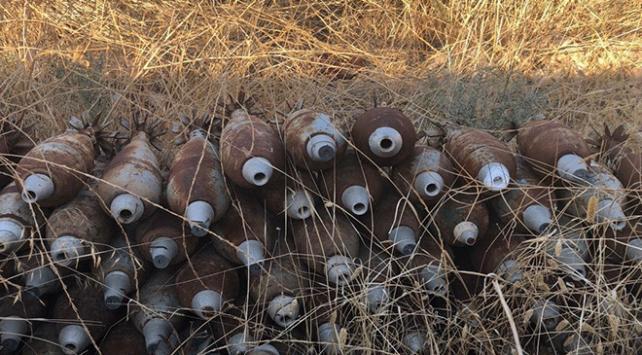 Tel Abyadda 285 ağır silah mühimmatı ele geçirildi