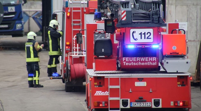 Almanyada maden ocağında patlama: İşçiler göçük altında kaldı