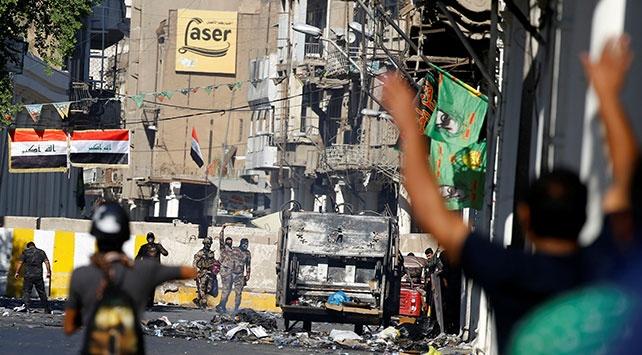 Irakın Basra kentindeki gösterilerde 8 kişi öldü