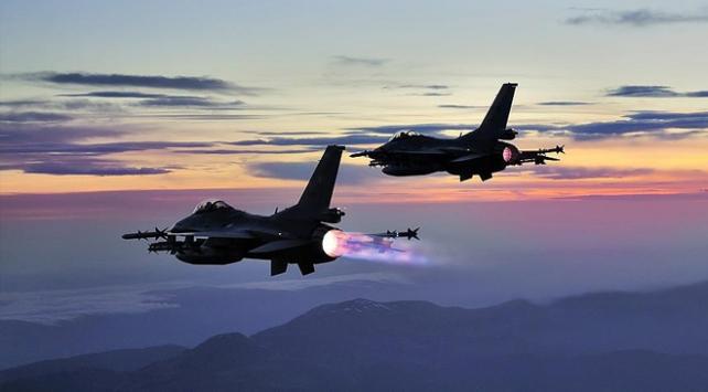 Irakın kuzeyinde 9 terörist etkisiz hale getirildi