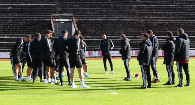 Beşiktaş, Denizlispor maçı hazırlıklarına Bragada başladı