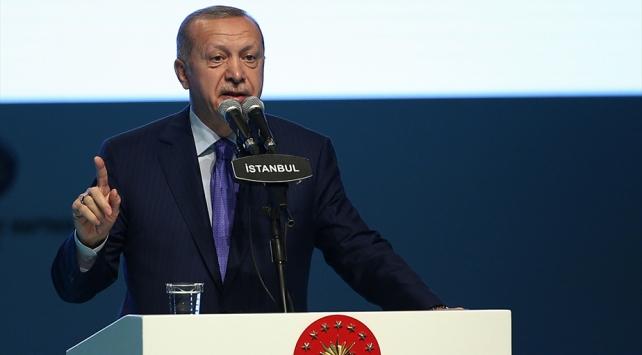 Cumhurbaşkanı Erdoğan: Birileri diyor ya Suriyeliler gitsin, asla biz bunlara eyvallah edemeyiz