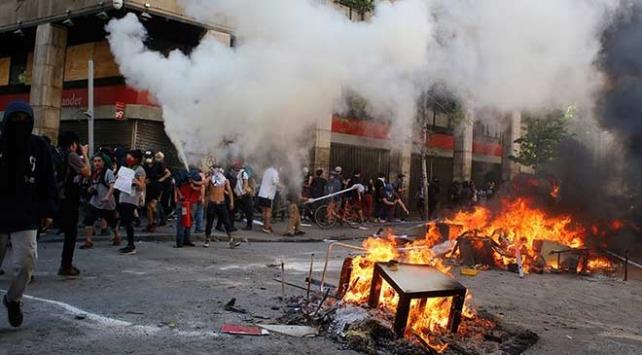 Şilideki gösteriler durulmuyor
