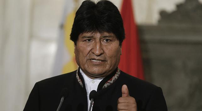 """Bolivya Devlet Başkanı Moralesden halka """"demokrasiyi müdafaa"""" çağrısı"""