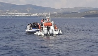 Muğla'da düzensiz göçmenleri taşıyan bot battı